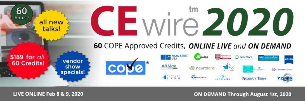 CEwire2020: 60 COPE Credits, $189