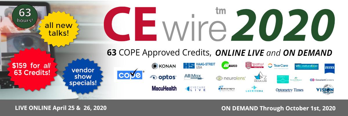 CEwire2020 63 COPE Credits, $159