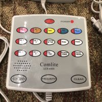 Comelite Inter-Office Communication System (Light and Voice) - 10 Units / 2 remotes / Manuals - Sold