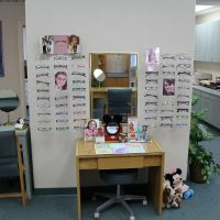 Fashion Optical Displays and Fixtures in very good condition