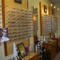 Optometry Practice and Retail Eyeglass Shop. Boston Suburb